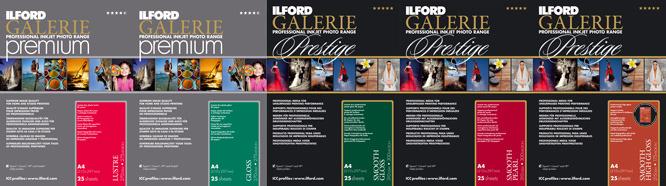 ILFORD Galerie Premium Prestige Papers