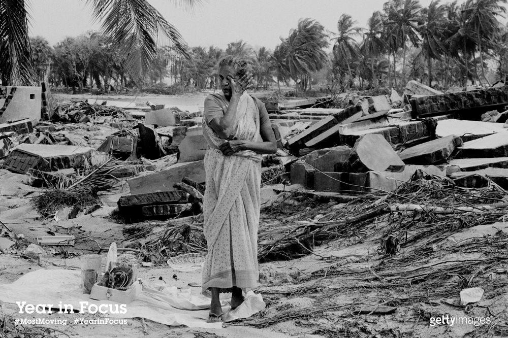 Aftermath of Asian tsunami