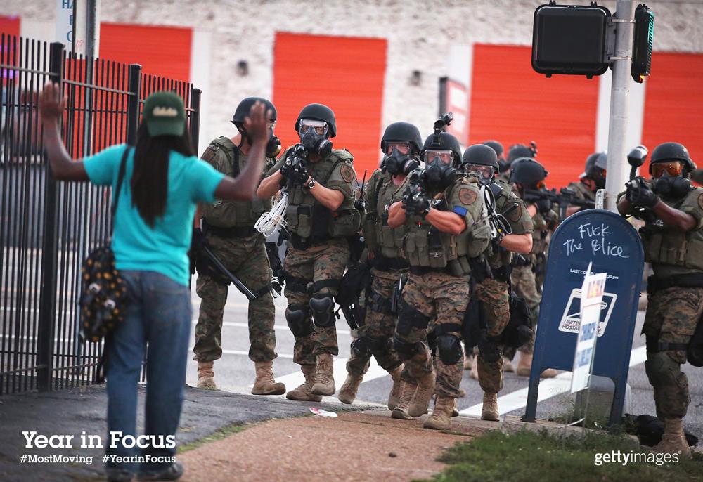 Civil unrest in Ferguson