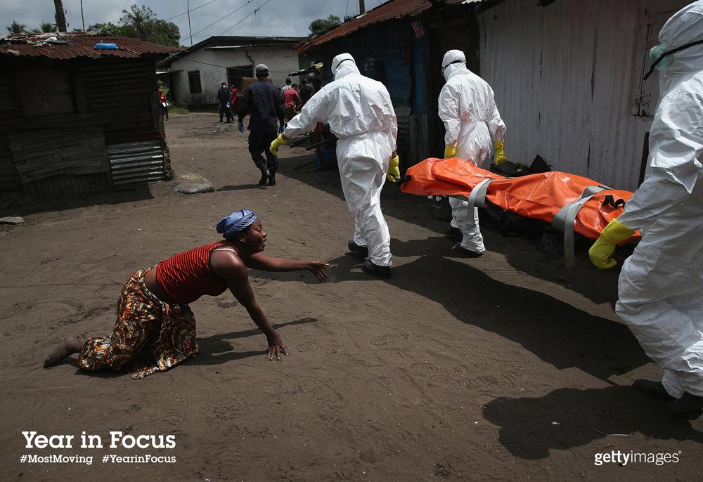 Ebola epidemic captured by John Moore