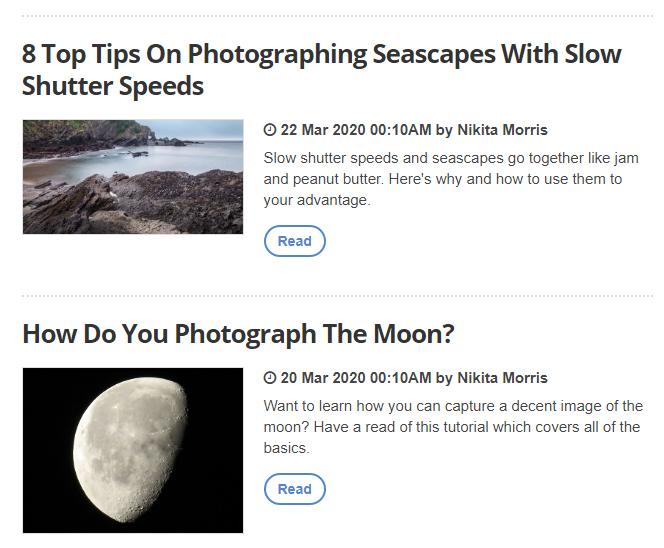 Learn with ePHOTOzine