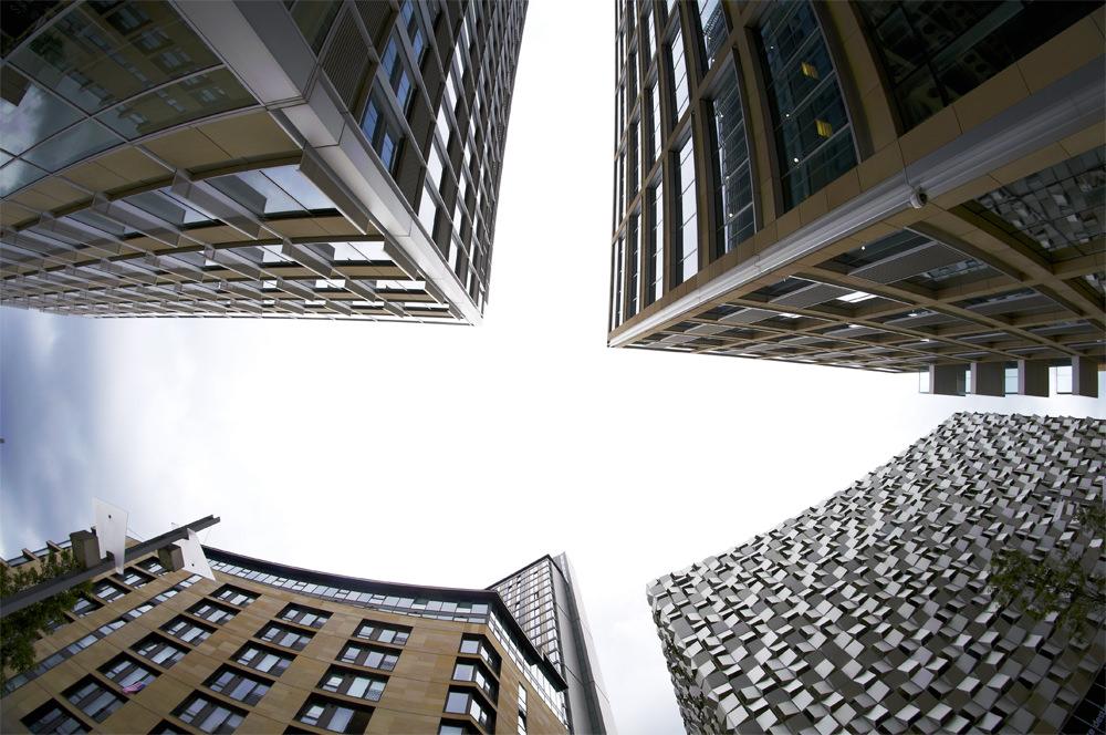 Fisheye buildings