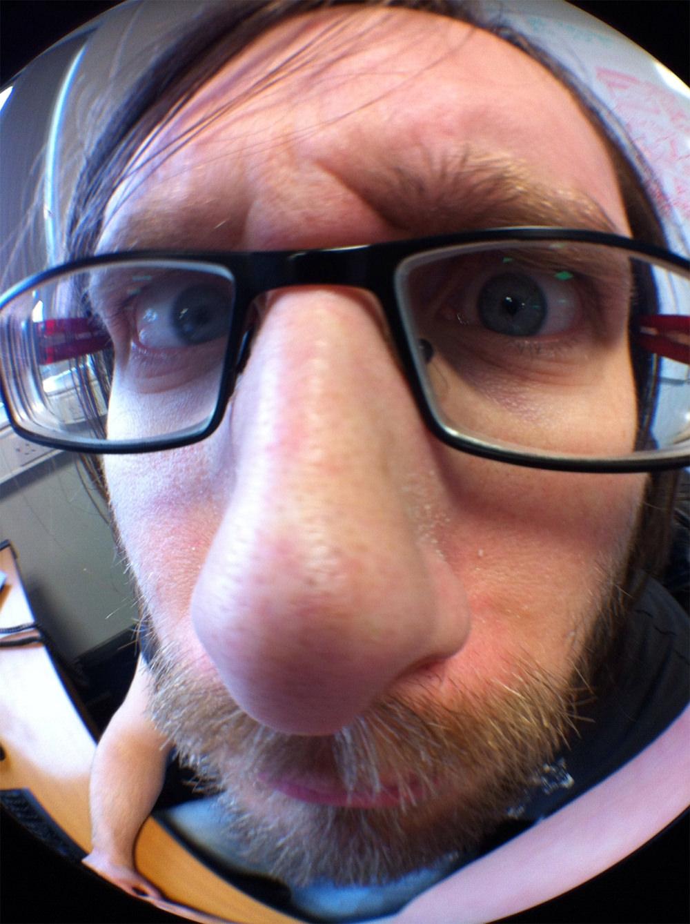 Fisheye David