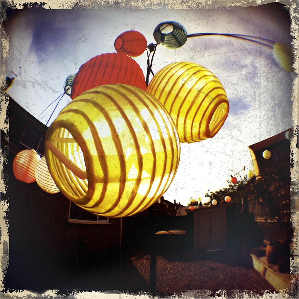 Fisheye Lanterns