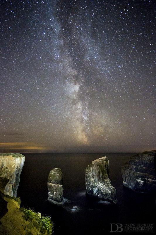 Milky Way - Elegug Stacks