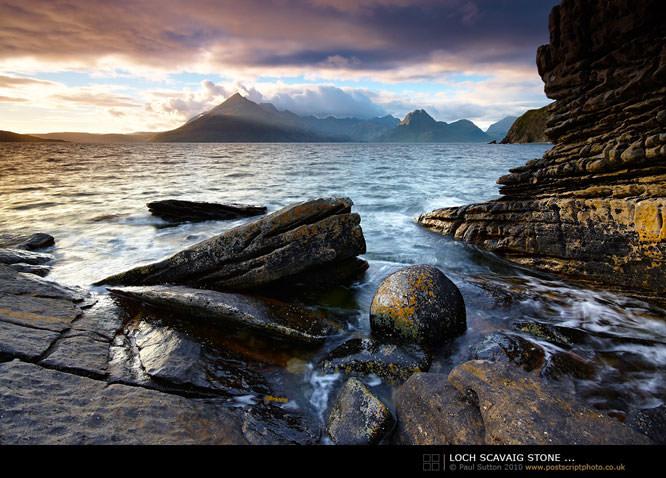 Loch Scavaig Stone
