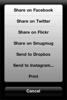 100 Cameras in 1 iPhone App