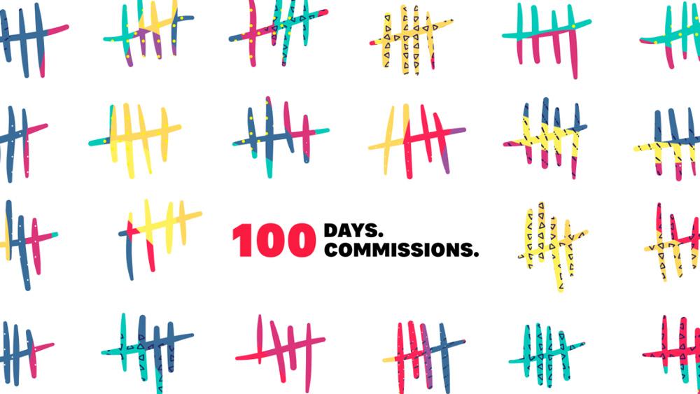 Serif: 100 days, 100 commissions