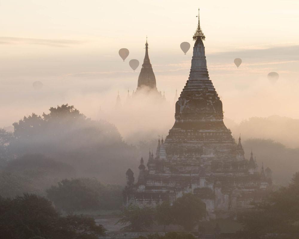 Bagan Dawn