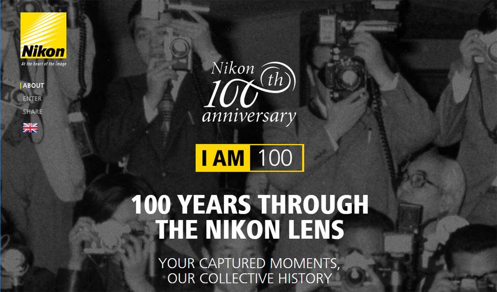 Nikon 100th anniversary
