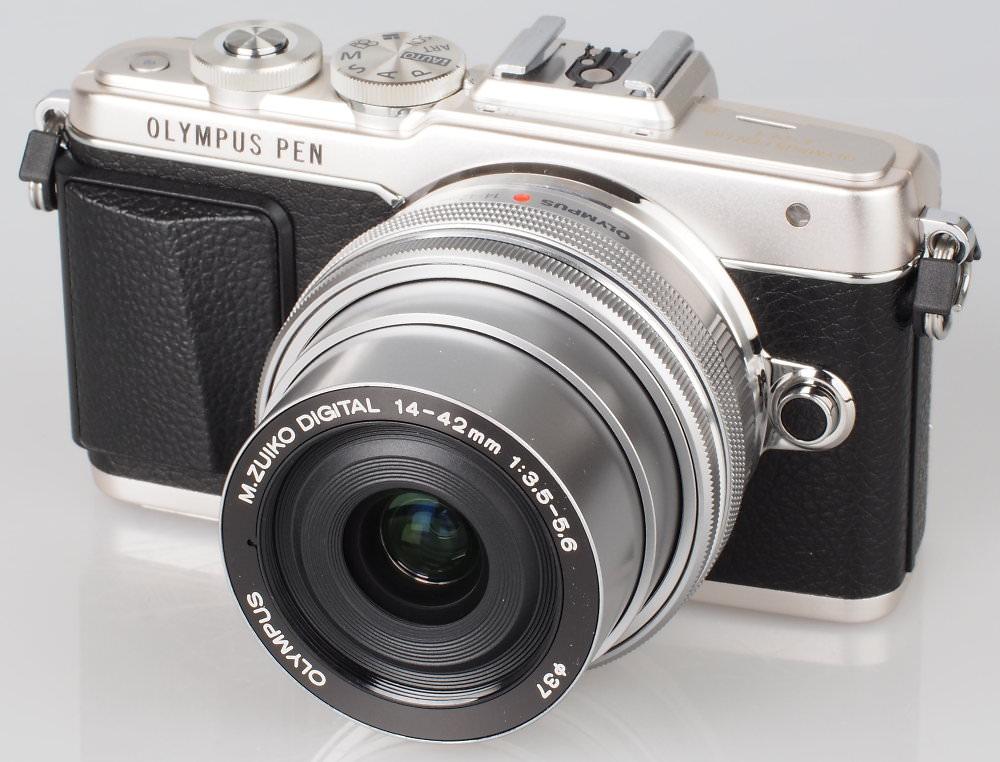 Olympus PEN Lite E PL7 Silver (6)