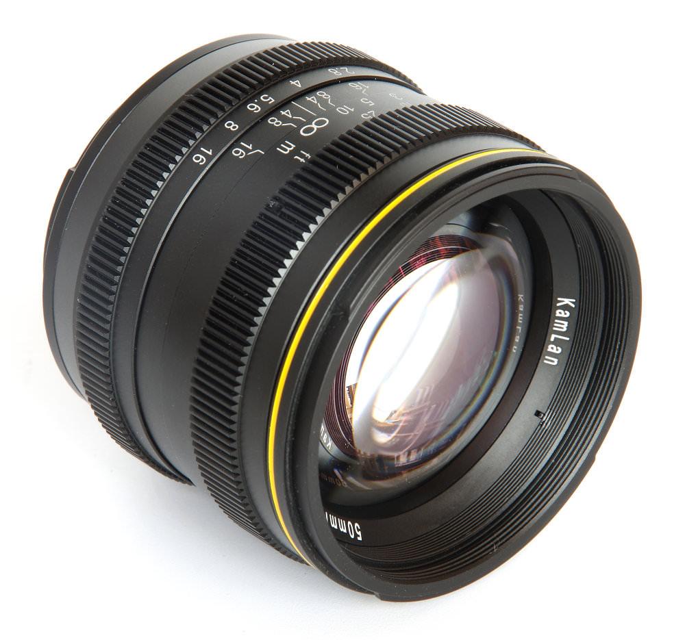SainSonic Kamlan 50mm f/1.1 Lens