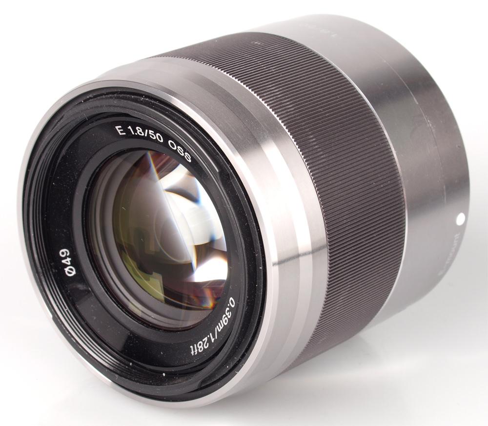 Sony NEX 50mm f/1.8 OSS Lens