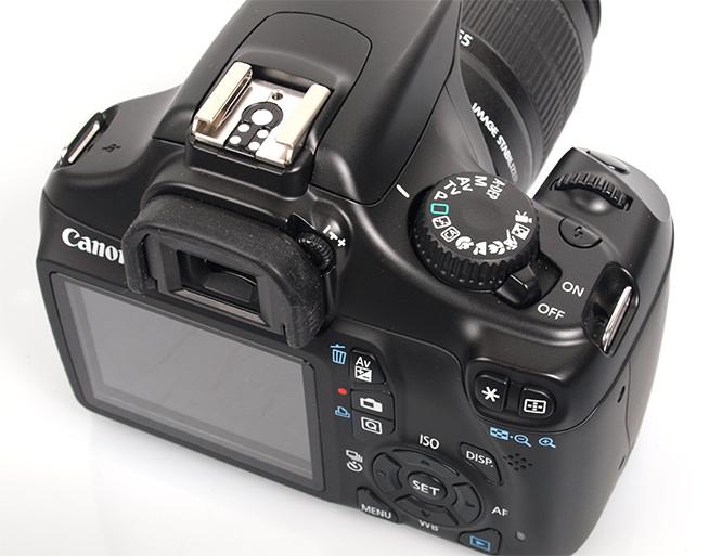 Canon EOS 1100D Handling