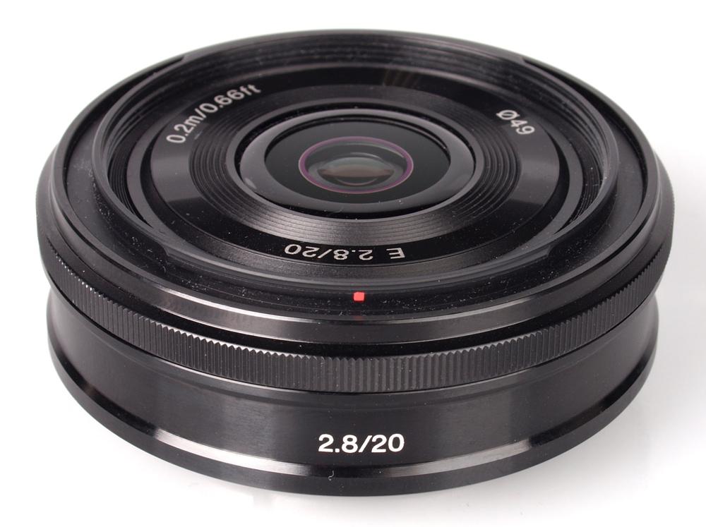 Sony NEX E 20mm f/2.8 Pancake Lens