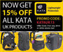 15% Off All Kata UK Products