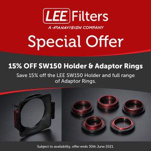 15% Off LEE Filters SW150 Holders, Glass Filters & Adaptor Rings