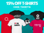 Thumbnail : 15% Off T-Shirts In The ePHOTOzine Merchandise Store
