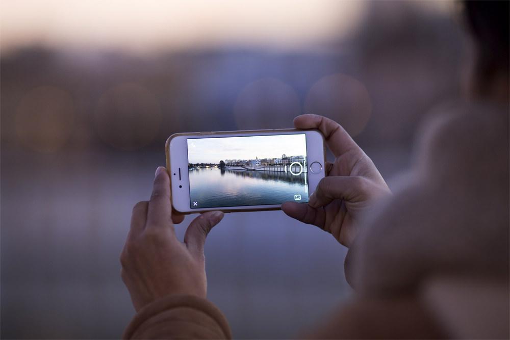 Camera on a smartphone