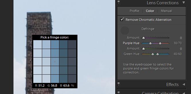 Fringe Colour