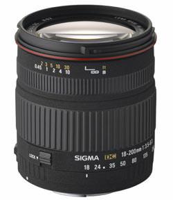 Sigma 18-200 f/3.5-6.3 DC