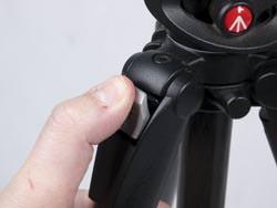 £200 tripod group test Manfrotto 190CX Pro4 leg release