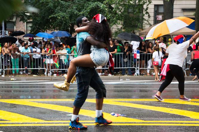 William Kline - Jamaican day parade event