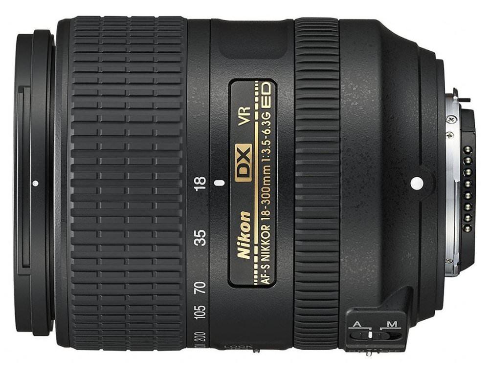 Nikon AF-S DX Nikkor 18-300mm f/3.5-6.3G ED VR.