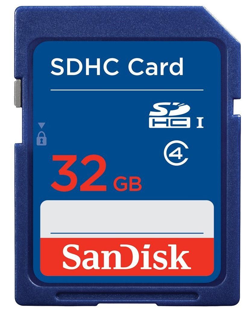SanDisk SDSDB-032G-FFP 32 GB SDHC Class 4 Memory Card