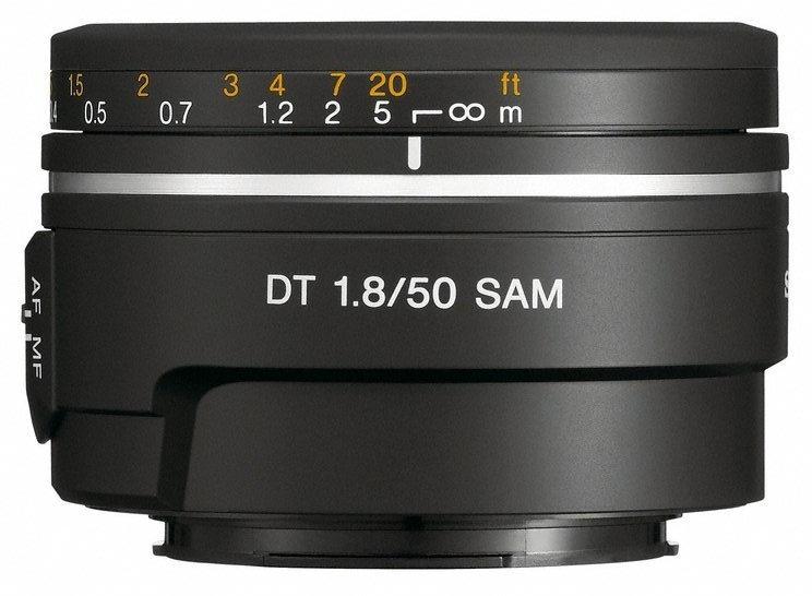 Sony 50mm F18 Lens