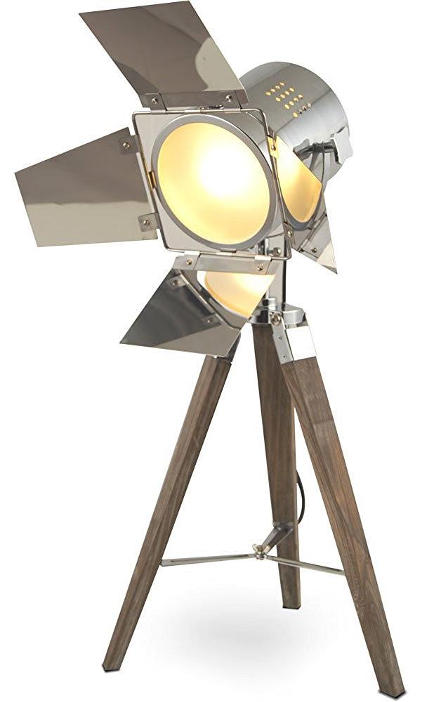 Table Lamp Tripod Standard Trivet Urban Industrial Design Sel-l38