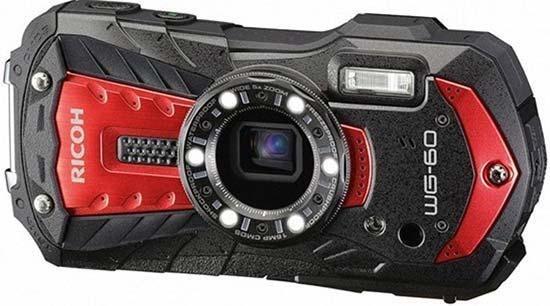 Ricoh WG-60 Waterproof Digital Compact Camera