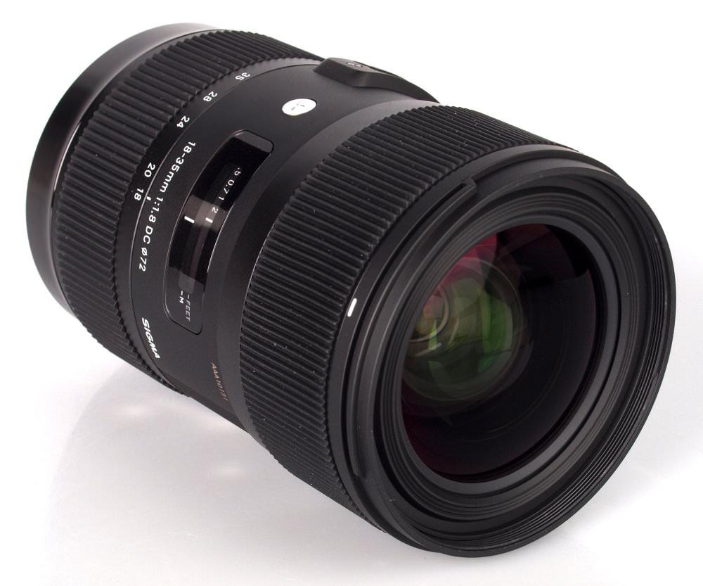 Sigma 18 35 F18 Dc A Lens (3)