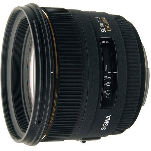 Sigma 50mm f1.4 EX DG Lens For Nikon Digital & Film Cameras