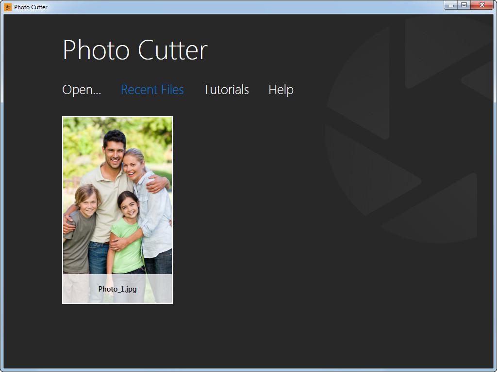 Photo cutter