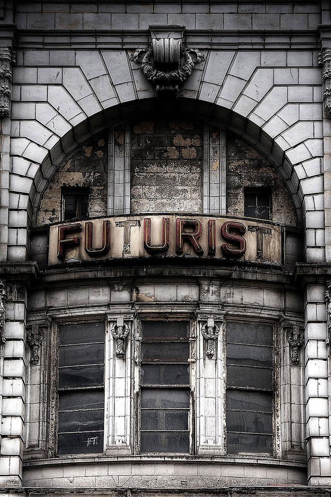 Futurist Sign