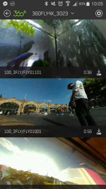 Videos On Camera