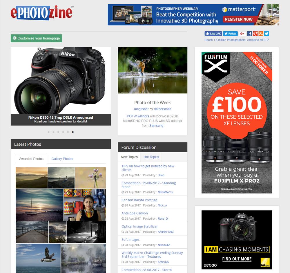 ePz homepage