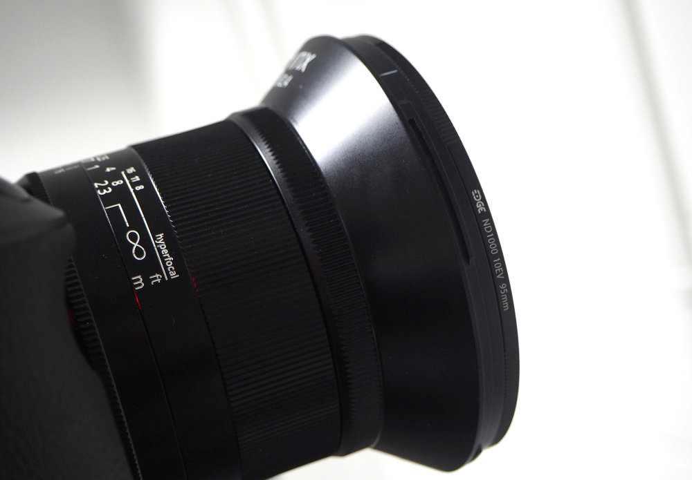 ND Filter on camera