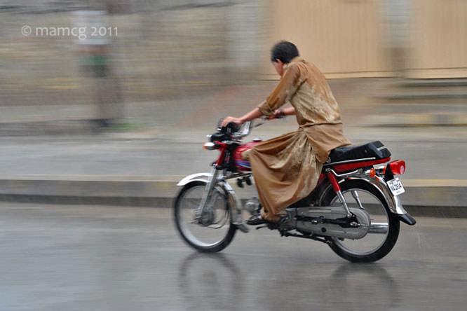 Bike in the rain