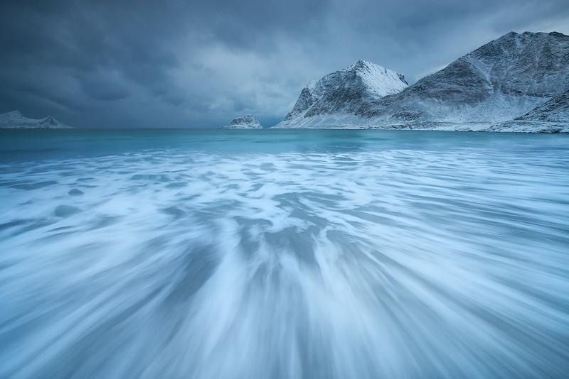 Uttakleiv, Lofoten Islands, Norway