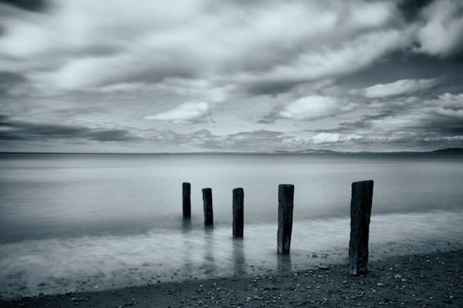 Beach, sea, long exposure