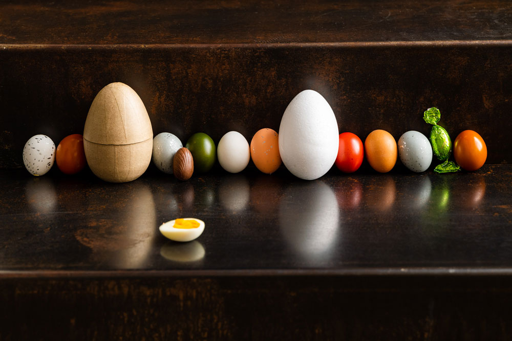 Eggs line-up