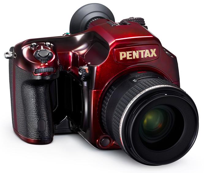 Pentax 645D Red