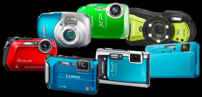Top 7 Best Waterproof Cameras