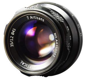 7artisans 35mm F/1.2 Prime Lens For Sony E-Mount