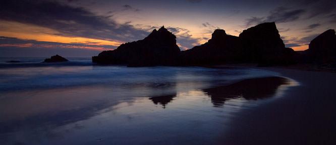 Coast reflections