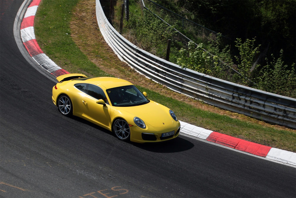 Porsche on the Nurburgring