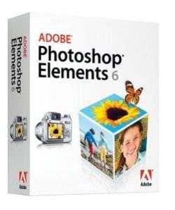 Adobe Photoshop Elements 6 screen shot