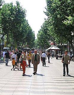 holidays barcelona weekend break at Paseo de Grcia